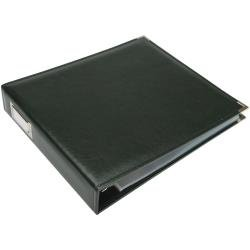 We R Classic Leather 3-Ring Album 12X12 Forest Green