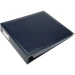 We R Classic Leather 3-Ring Album 12X12 Navy