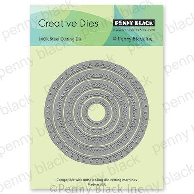 Penny Black Creative Dies-Stitched Circles