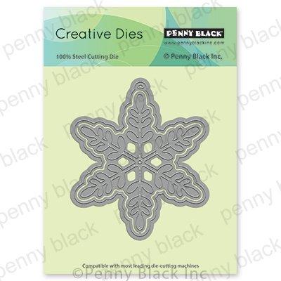 Penny Black Creative Dies Snowflake Tag 3.8X3.5