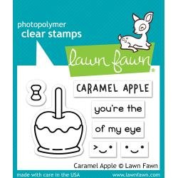Lawn Fawn Clear Stamps 3X2 Caramel Apple