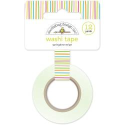 Doodlebug Washi Tape 15mm X 12yd Springtime