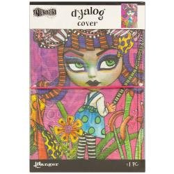Dyan Reaveley's Dylusions Dyalog Canvas Printed Cover 5X8 Believe