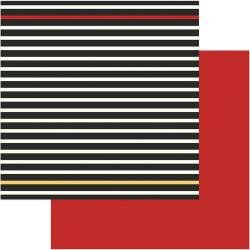 PhotoPlay A Day At The Park DS CS 12X12 Black Stripe/Red