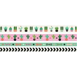 We R Washi Tape Rolls 4/Pkg Succulent