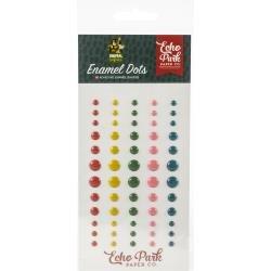 Echo Park Animal Safari Enamel Adhesive Dots 60/Pkg