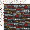 Echo Park Magical Adventure 2 Double-Sided Cardstock 12X12 Dream Big Words