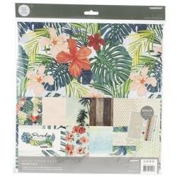 KAISERCraft Paper Pack 12X12 12/Pkg Paradise Found