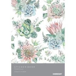 KAISERCraft Sticker Book 6X8 12/Pages Greenhouse
