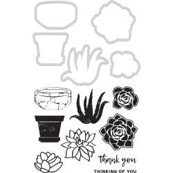 KAISERCraft Dies & Stamps Succulents