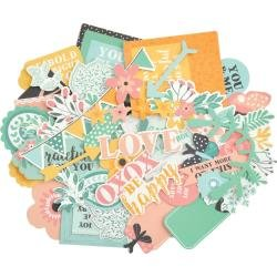 KAISERCraft Collectables Cardstock Die-Cuts Paisley Days