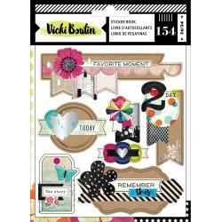 AC Vicki Boutin Color Kaleidoscope Sticker Book 154/Pkg