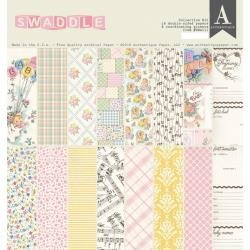 Authentique Collection Kit 12X12 Swaddle Girl