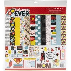 PhotoPlay Collection Pack 12X12 Best Mom Ever