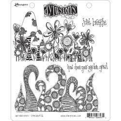 Dyan Reaveley's Dylusions Cling Stamp Collections 8.5X7 Just Breathe