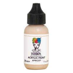 Dina Wakley Media Acrylic Paint 1oz Apricot