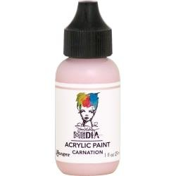 Dina Wakley Media Acrylic Paint 1oz Carnation