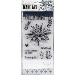 RANGER Wendy Vecchi Make Art Stamp, Die & Stencil Set A Million Thanks
