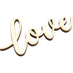 American Crafts Pocket Frames Laser Cut Words Love