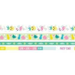 We R Washi Tape Rolls 4/Pkg Tropical
