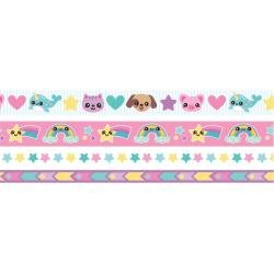 We R Washi Tape Rolls 4/Pkg Kawaii