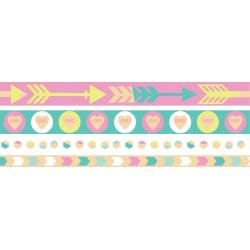 We R Washi Tape Rolls 4/Pkg Pastel