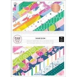 Pink Paislee Single-Sided Paper Pad 6X8 36/Pkg Paige Evans Horizon