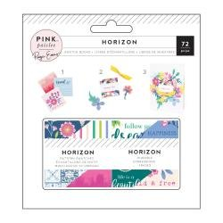 Pink Paislee Paige Evans Horizon Mini Swatch Books 2X2 2/Pkg Pattern & Phrase