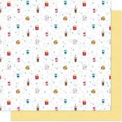 AC Shimelle Sparkle City Double-Sided Cardstock 12X12 Grab & Go