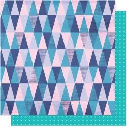 AC Shimelle Sparkle City Double-Sided Cardstock 12X12 Mountain View