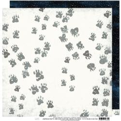 Heidi Swapp Wolf Pack Double-Sided Cardstock 12X12 Tracks