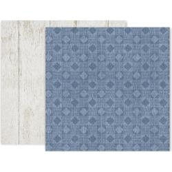 Pink Paislee Indigo & Ivy Double-Sided Cardstock 12X12 #7
