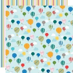 BB Let's Go On An Adventure Double-Sided Cardstock 12X12 Balloon Ride
