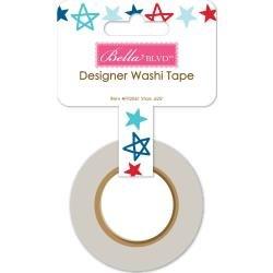 BB Fireworks & Freedom Washi Tape .625X30' Stars