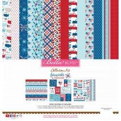 Bella Blvd Collection Kit 12X12 Fireworks & Freedom