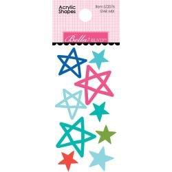 BB Splash Zone Acrylic Shapes Star Mix