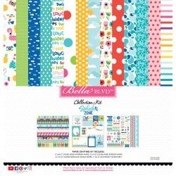 Bella Blvd Collection Kit 12X12 Splash Zone