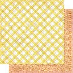 Authentique Dreamy Double-Sided Cardstock 12X12 #5 Plaid