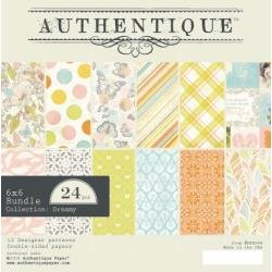 Authentique Double-Sided Cardstock Pad 6X6 24/Pkg Dreamy