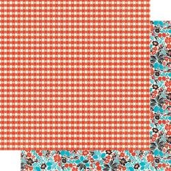 Authentique Ingredient Double-Sided Cardstock 12X12 #4 Tablecloth