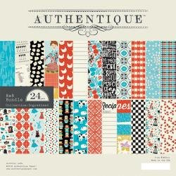 Authentique Double-Sided Cardstock Pad 8X8 24/Pkg, Ingredient