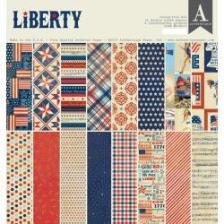 Authentique Collection Kit 12X12 Liberty