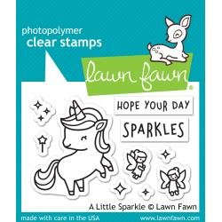 Lawn Fawn Clear Stamps 3X2 A Little Sparkle
