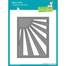 Lawn Cuts Custom Craft Die Sunray Backdrop