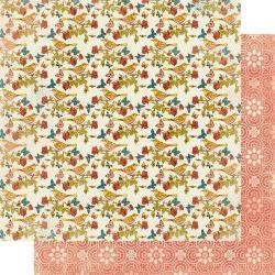 Authentique Endless Double-Sided Cardstock 12X12 #1 Summer Birds