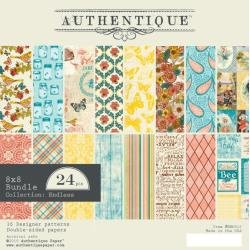 Authentique Double-Sided Cardstock Pad 8X8 24/Pkg Endless