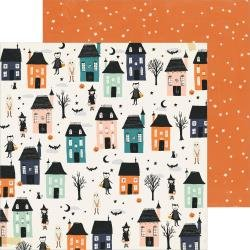 CP Hey, Pumpkin Double-Sided Cardstock 12X12 Happy Haunting