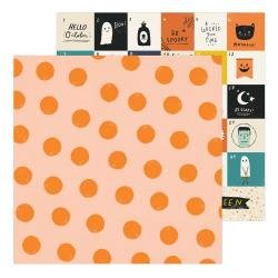 CP Hey, Pumpkin Double-Sided Cardstock 12X12 Pumpkin Spice