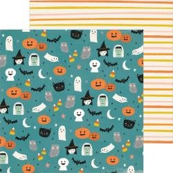CP Hey, Pumpkin Double-Sided Cardstock 12X12 Haunted