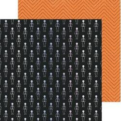 CP Hey, Pumpkin Double-Sided Foiled Cardstock 12X12 Moonlit